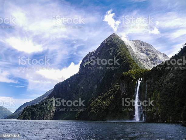 Photo of Through the beautiful Fjords of Milford Sound