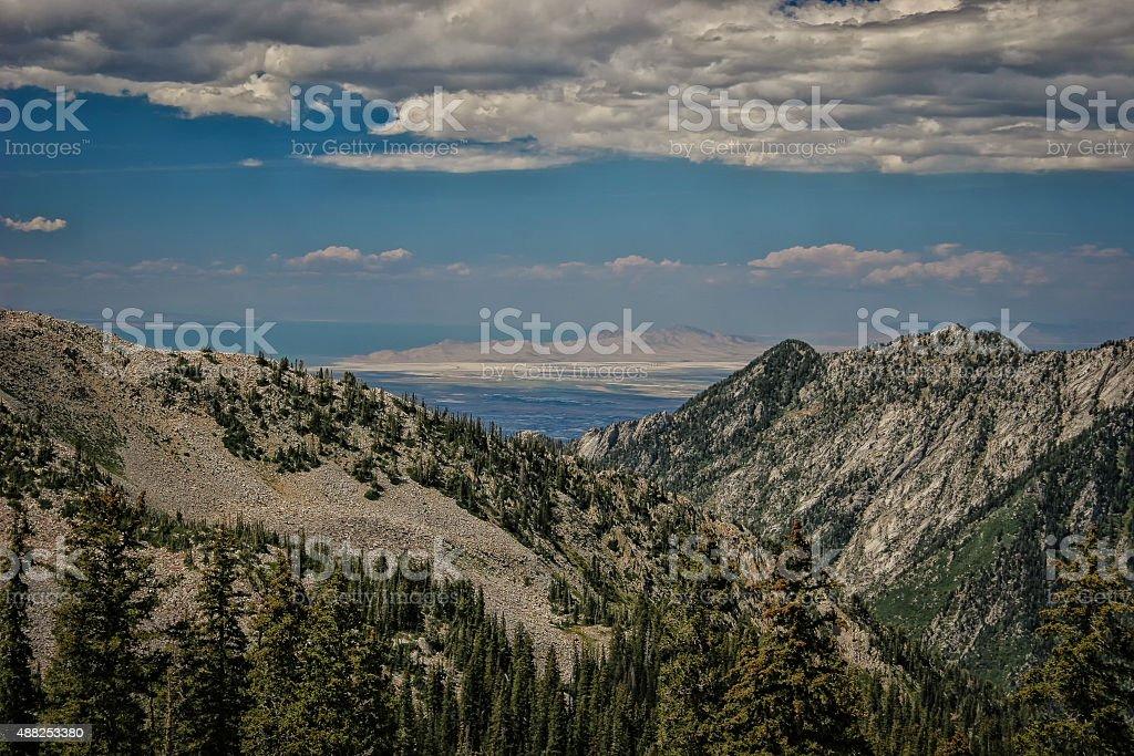 Through the Canyon to Antelope stock photo