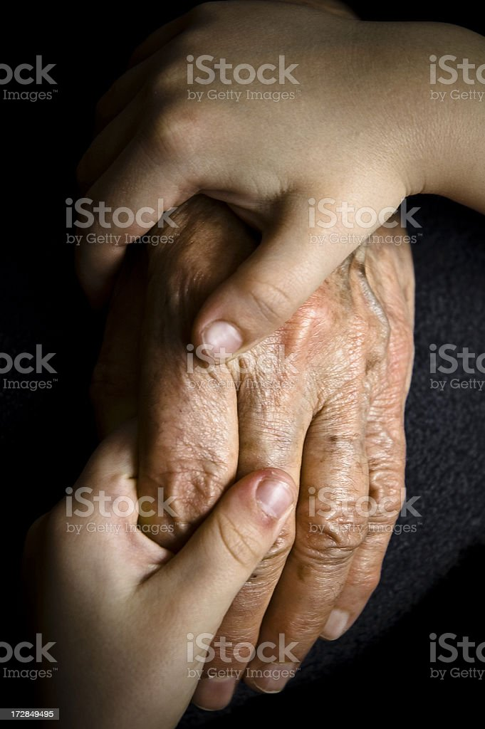 Through the Generations royalty-free stock photo