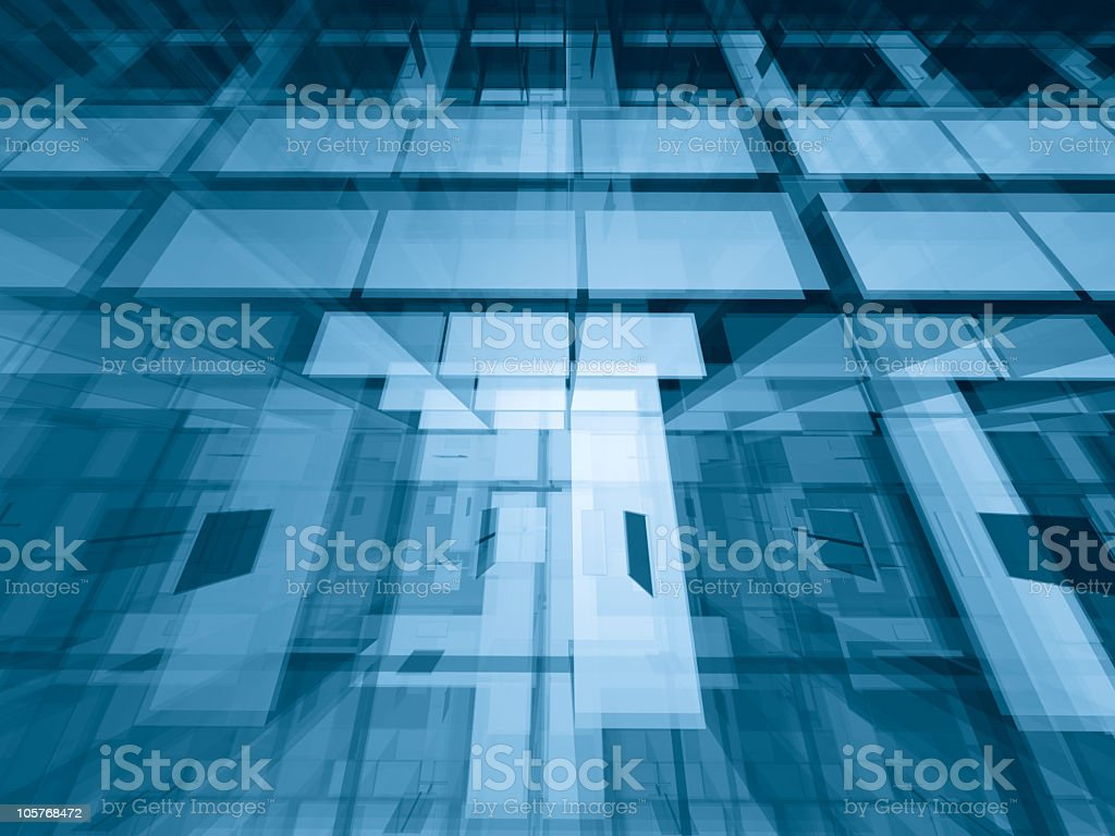 Through the levels royalty-free stock photo