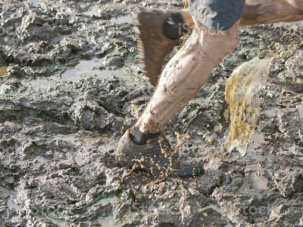 Through the Muck royalty-free stock photo