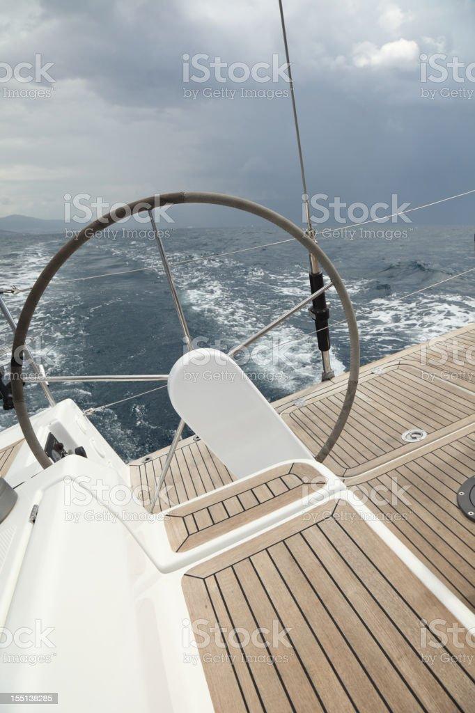 Through the storm stock photo