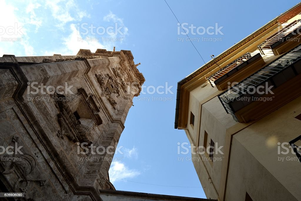 Per le vie di Valencia stock photo