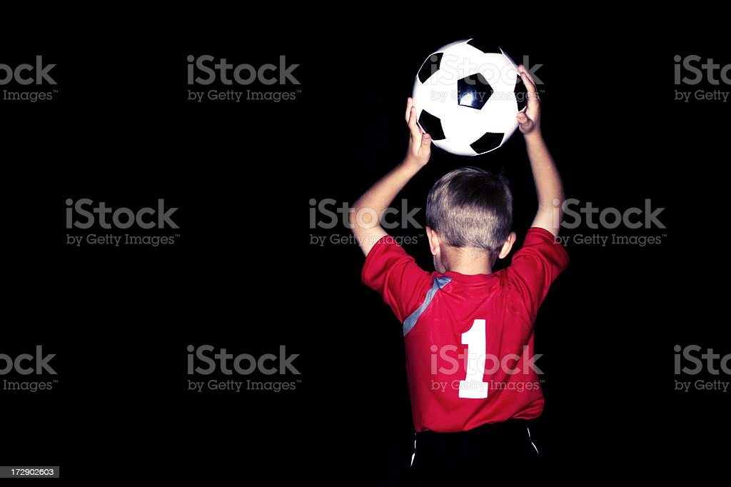 Throw In royalty-free stock photo