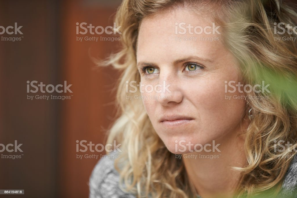 Throw some thought on it royalty-free stock photo
