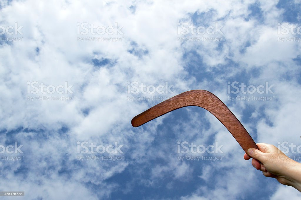 Lancer boomerang - Photo