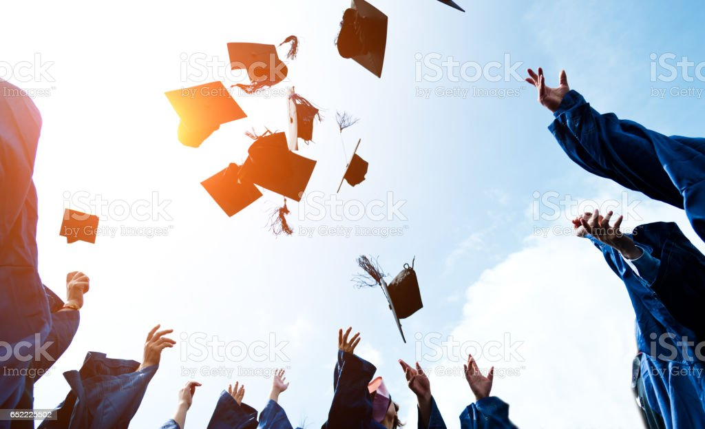 Werfen Graduierung Hüte  – Foto