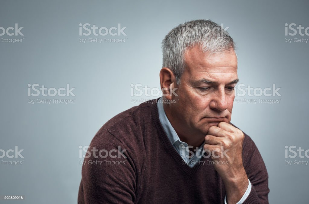 Throwing some thought on a conundrum stock photo