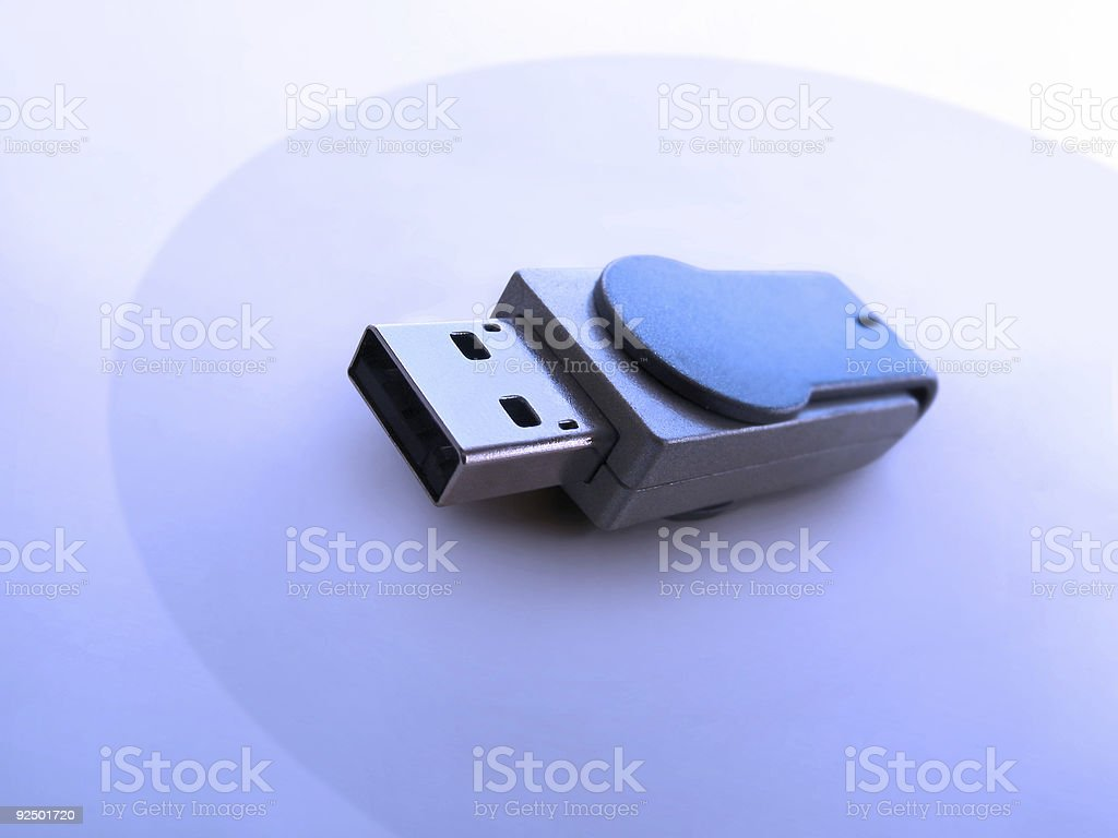 thumb drive royalty-free stock photo
