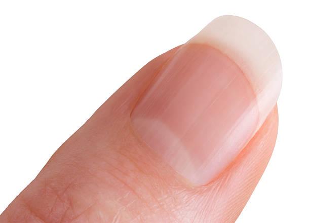 Daumen und finger mit clipping path – Foto
