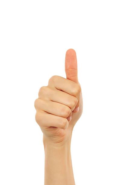 親指アップ - 親指 ストックフォトと画像
