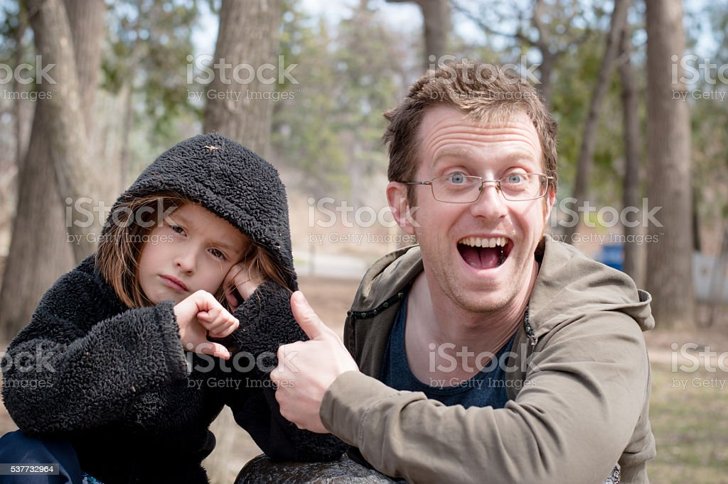 Thumbs down, thumbs up stock photo