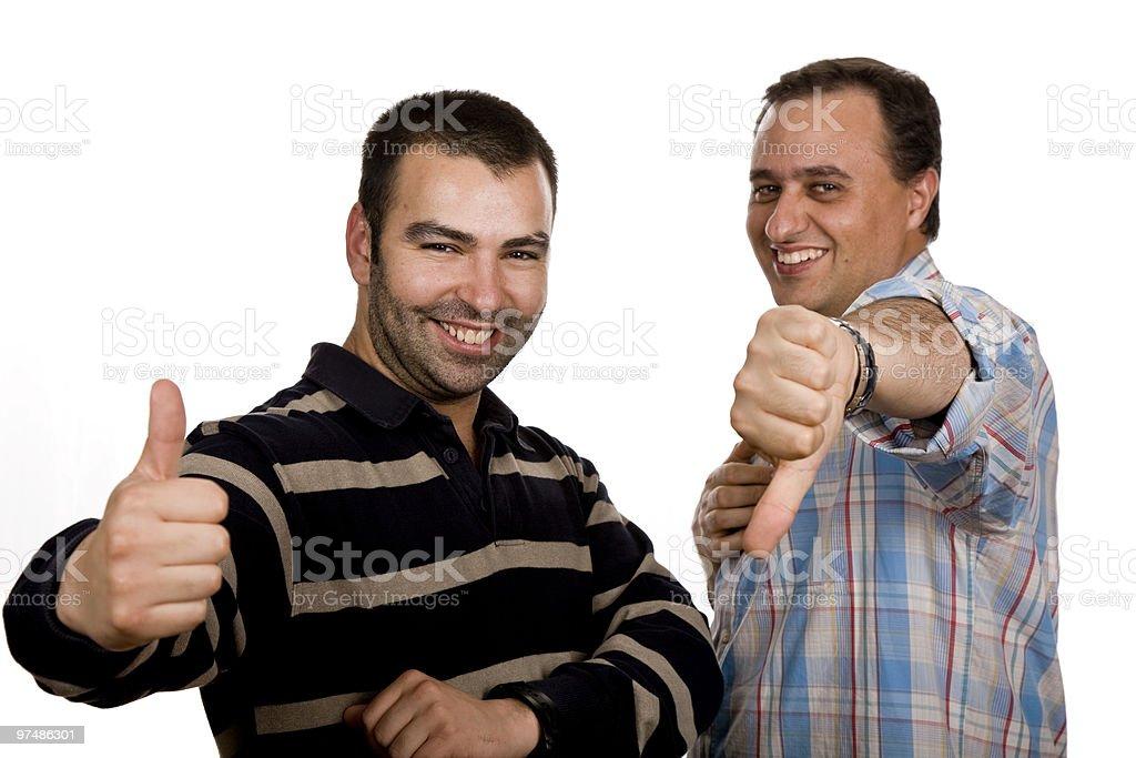 thumbs royalty-free stock photo