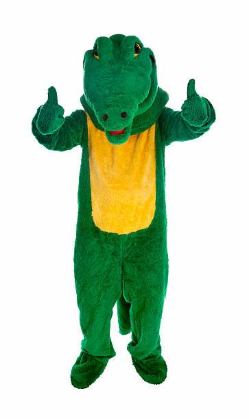 thumbs up gator stock photo