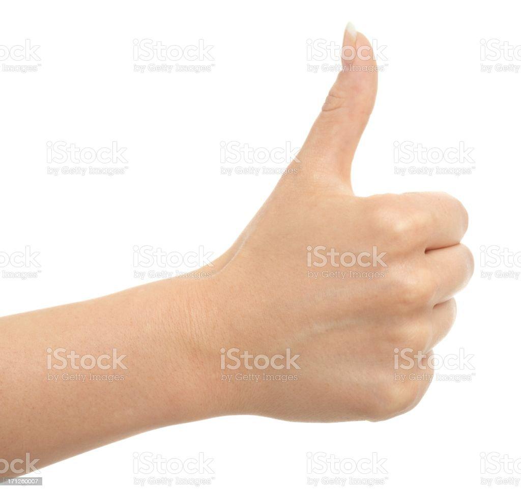 thumbs up. I like it a lot. I approve stock photo
