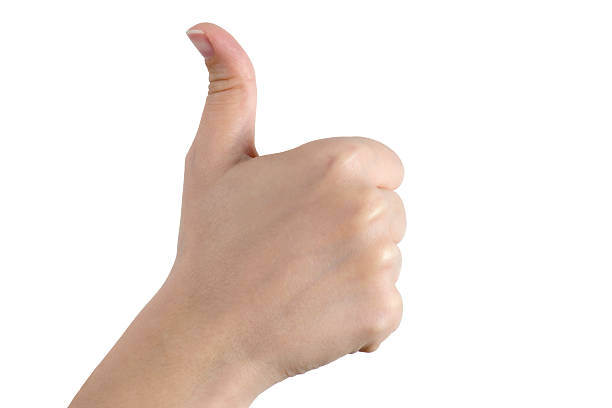 thumbs up - thumb stock photos and pictures