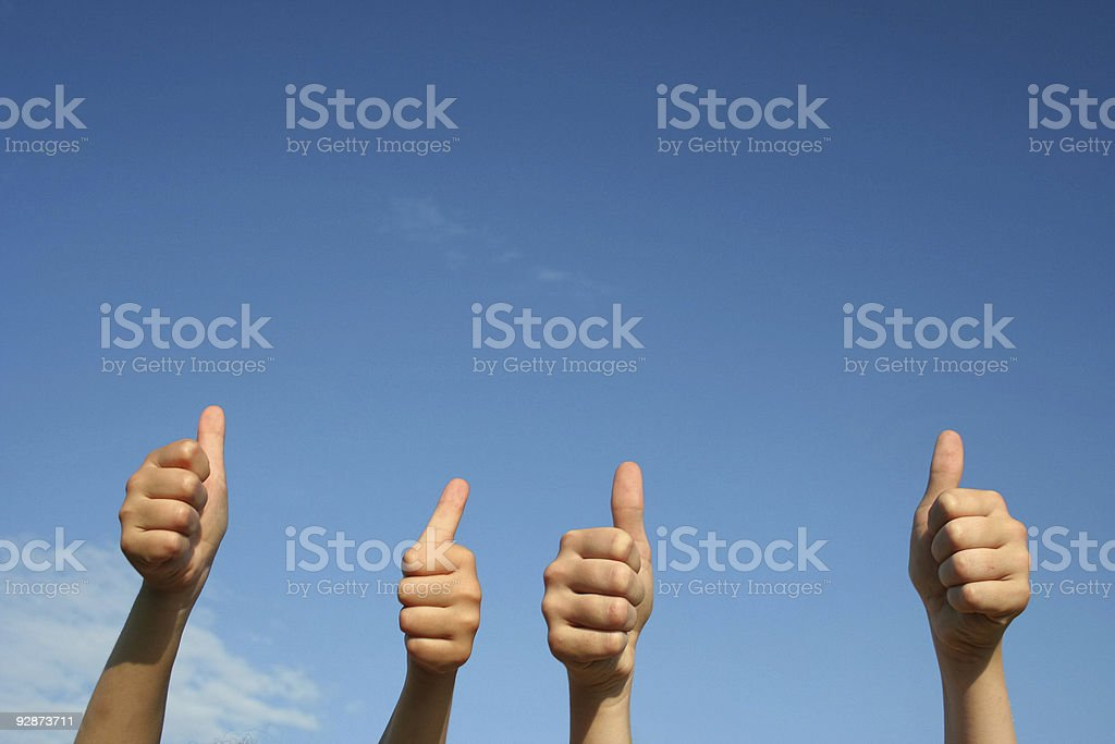 Thumbs up  Agreement Stock Photo