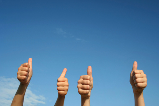 Thumbs Up Stock Photo - Download Image Now