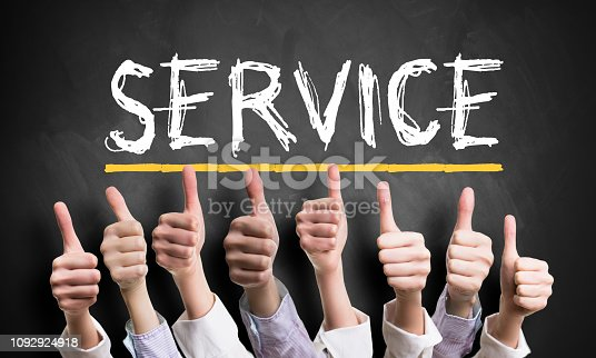 693589426istockphoto thumbs up to good service 1092924918