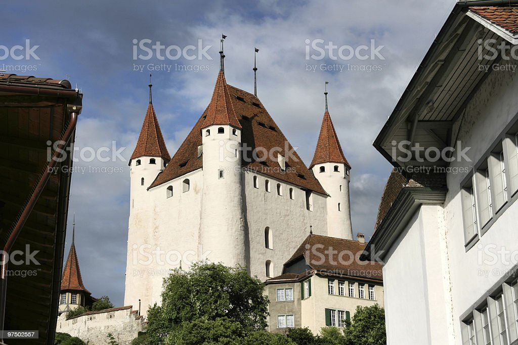 Thun castle royalty-free stock photo