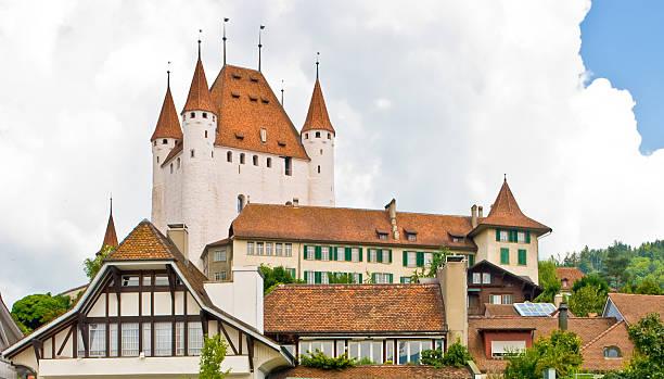 thun der schweiz - thun switzerland stock-fotos und bilder