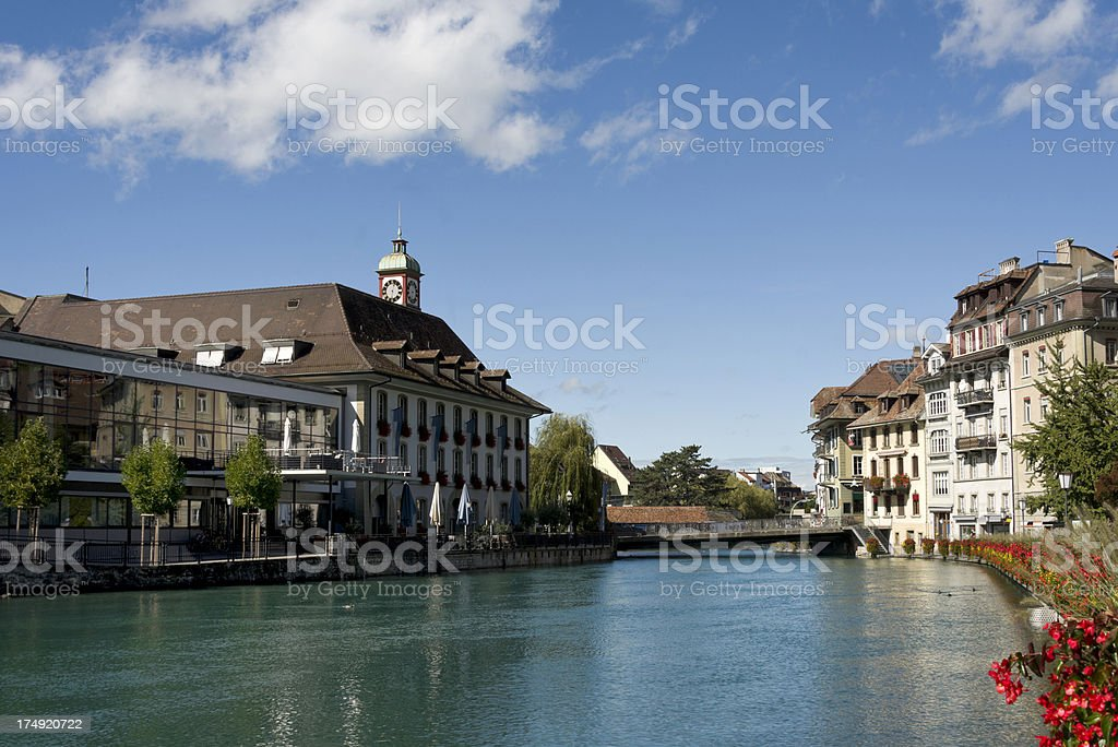 Thun, Switzerland royalty-free stock photo