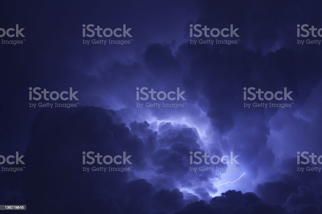 Thunder Cloud stock photo