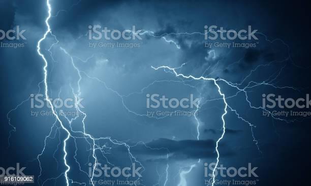 Photo of Thunder, lightning and rain