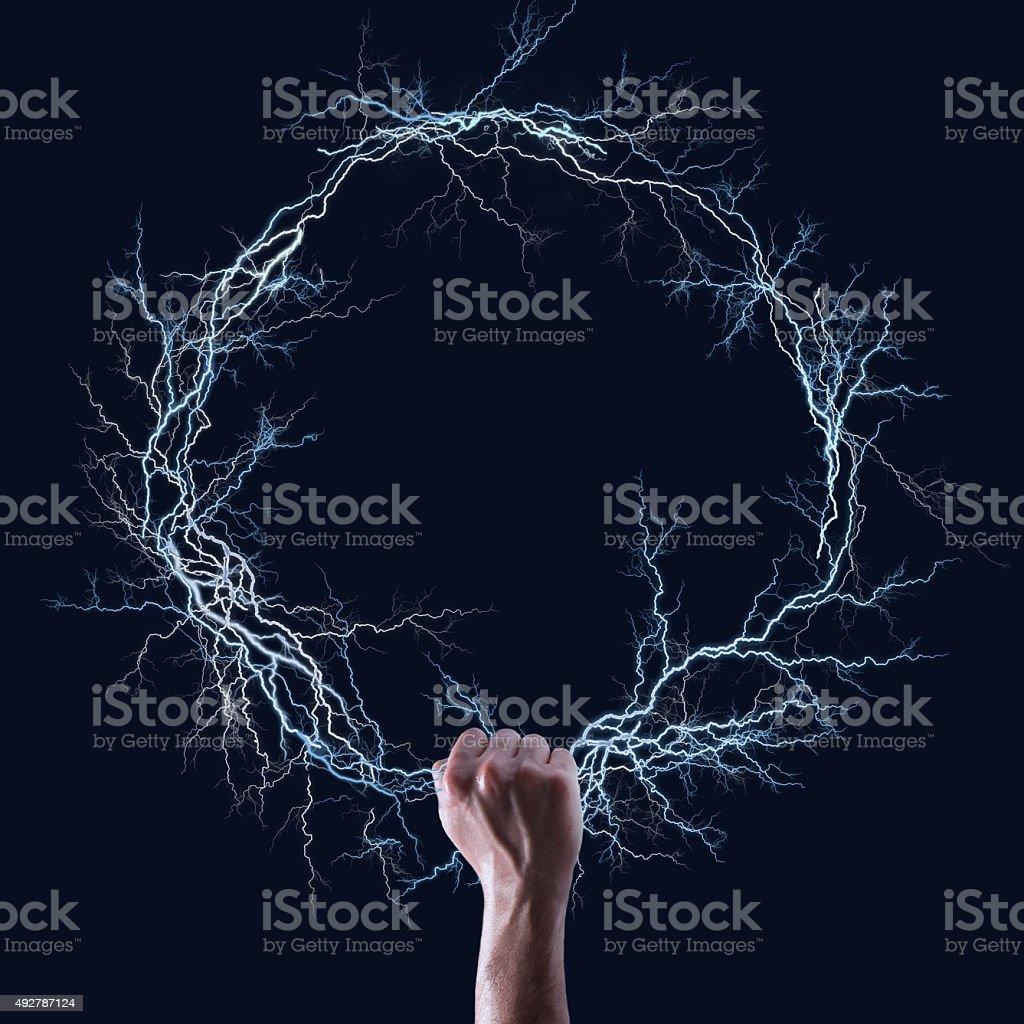 Thunder Ring stock photo