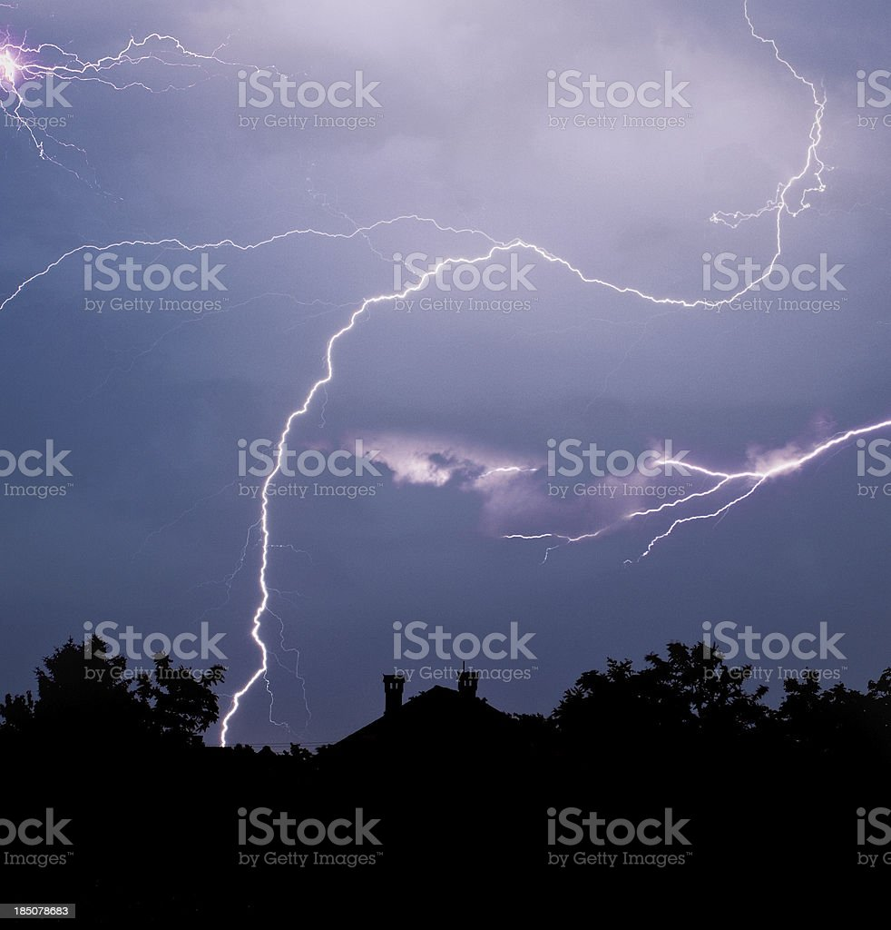 Thunder Storm royalty-free stock photo