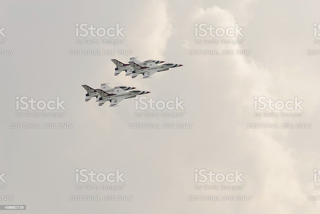 Thunderbirds (US Air Force) royalty-free stock photo