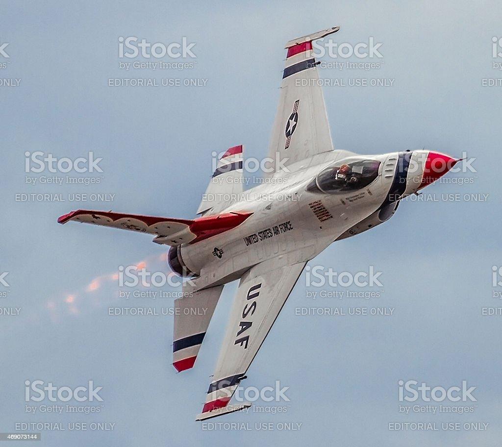 Thunderbirds stock photo