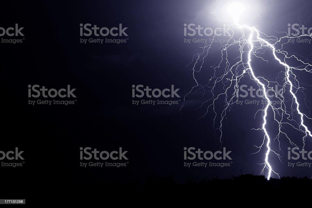 Thunderbolt royalty-free stock photo