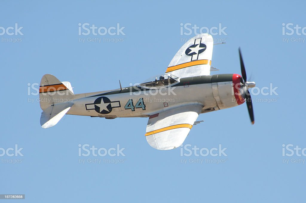 P-47 'Thunderbolt' Warplane stock photo