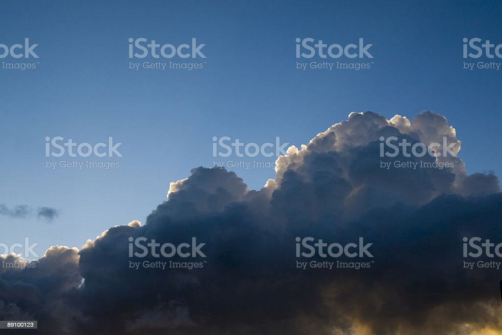 Thunderheads royalty-free stock photo