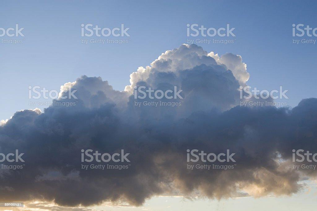 Thunderheads foto de stock libre de derechos