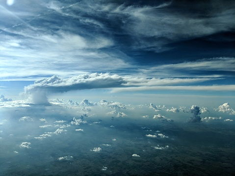 Thundering Above And Beyond Stock Photo - Download Image Now