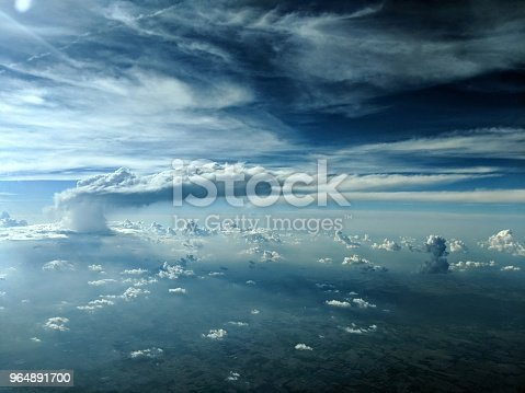 Thundering Above And Beyond Stock Photo & More Pictures of Airplane