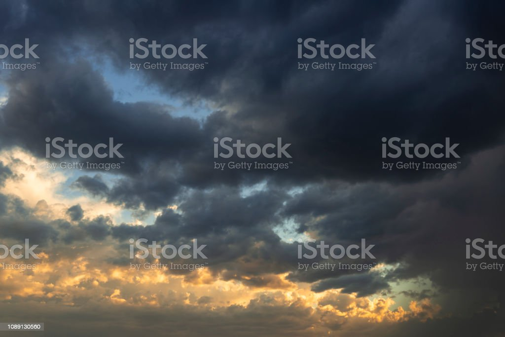 Thunderstorm Clouds Monsoon Dramatic Sky