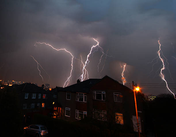 Thunderstorm  theasis stock pictures, royalty-free photos & images