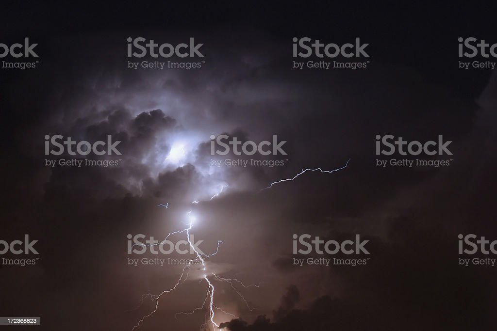 Thundestorm royalty-free stock photo