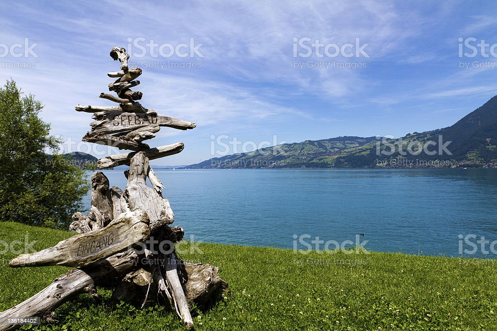 Thunersee royalty-free stock photo