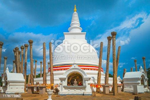 Thuparamaya, first Buddhist temple in Sri Lanka