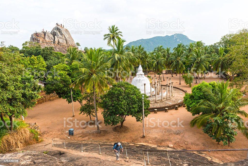 Thuparamaya Dagoba au Sri Lanka - Photo