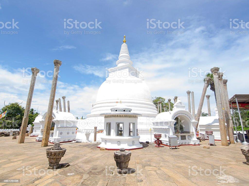stupa de Thuparamaya d'Anuradhapura, Sri Lanka - Photo