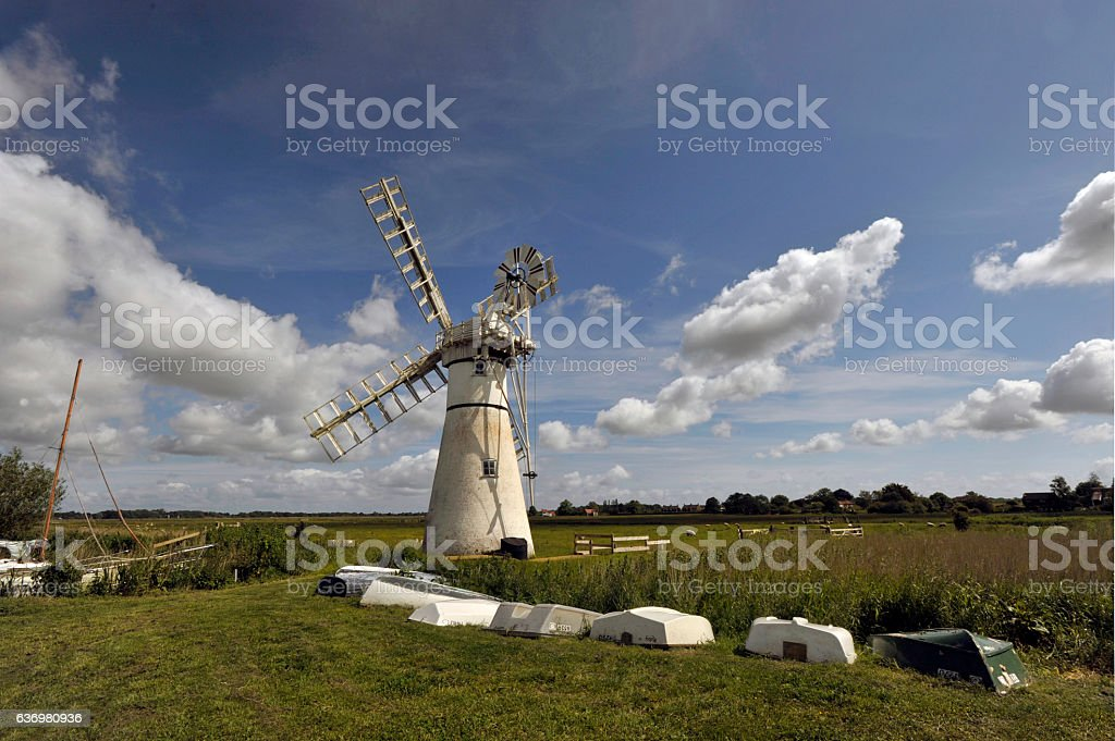 Thurne Mill stock photo