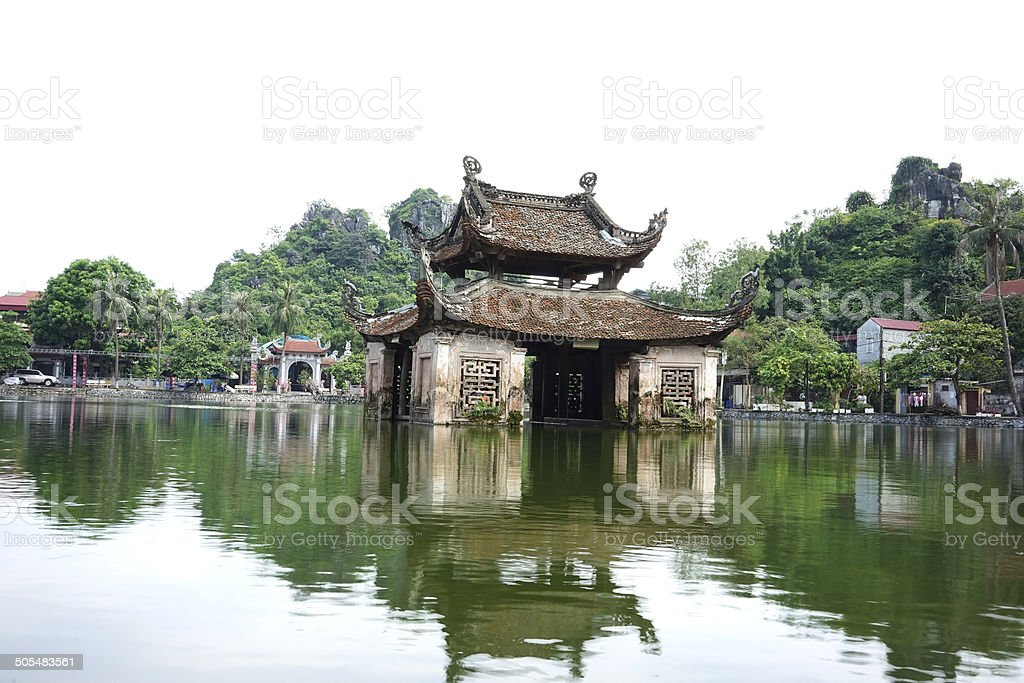 Thuy Dinh - Thay Pagoda, Hanoi stock photo