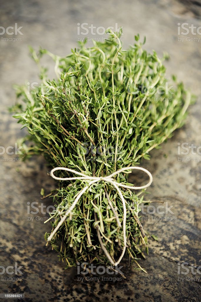 Thyme Bouquet royalty-free stock photo