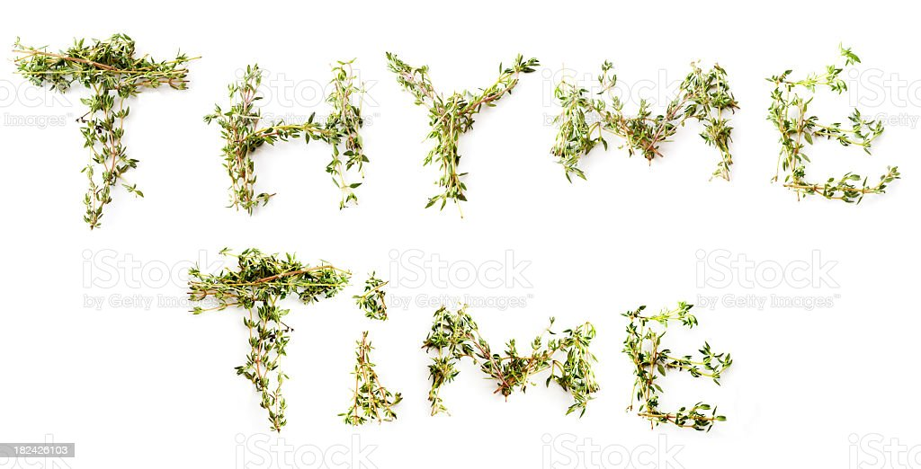 Thyme Time royalty-free stock photo