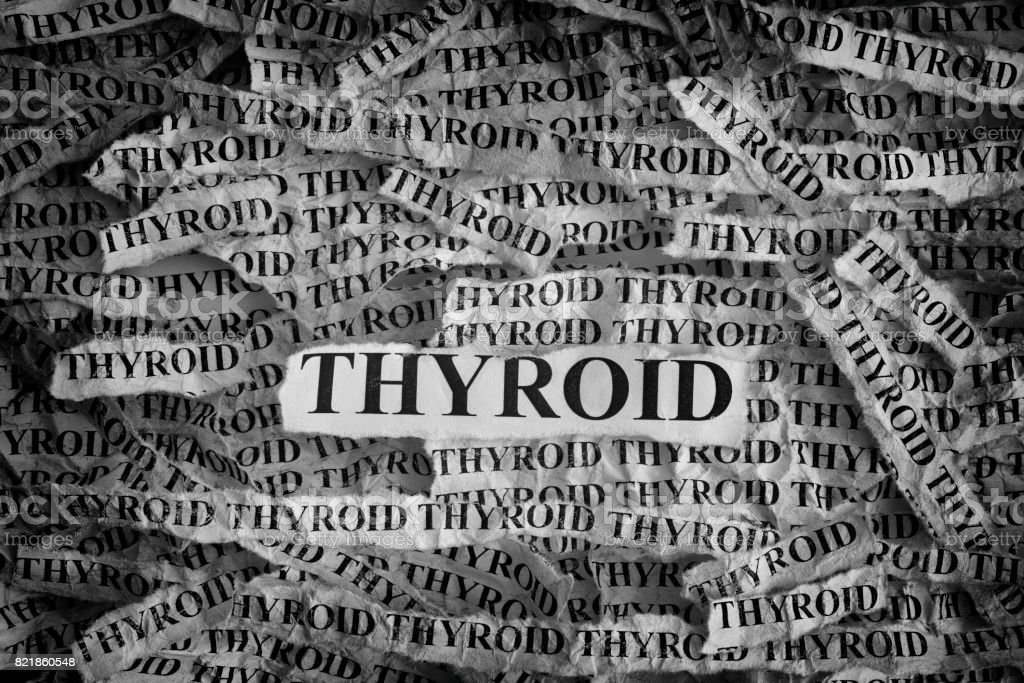 Thyroid stock photo